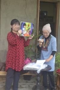 Bu Yoko dan Bu Dina bercerita tentang Smong