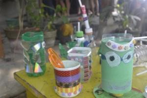 Hasil Karya Siswa yang dijual di Pasar Salam